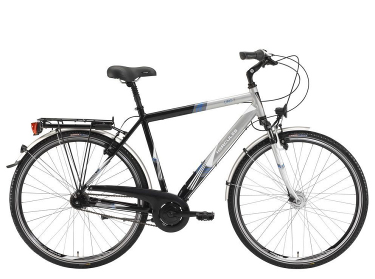 wir nehmen ihr altes fahrrad in zahlung hercules uno 7 28. Black Bedroom Furniture Sets. Home Design Ideas